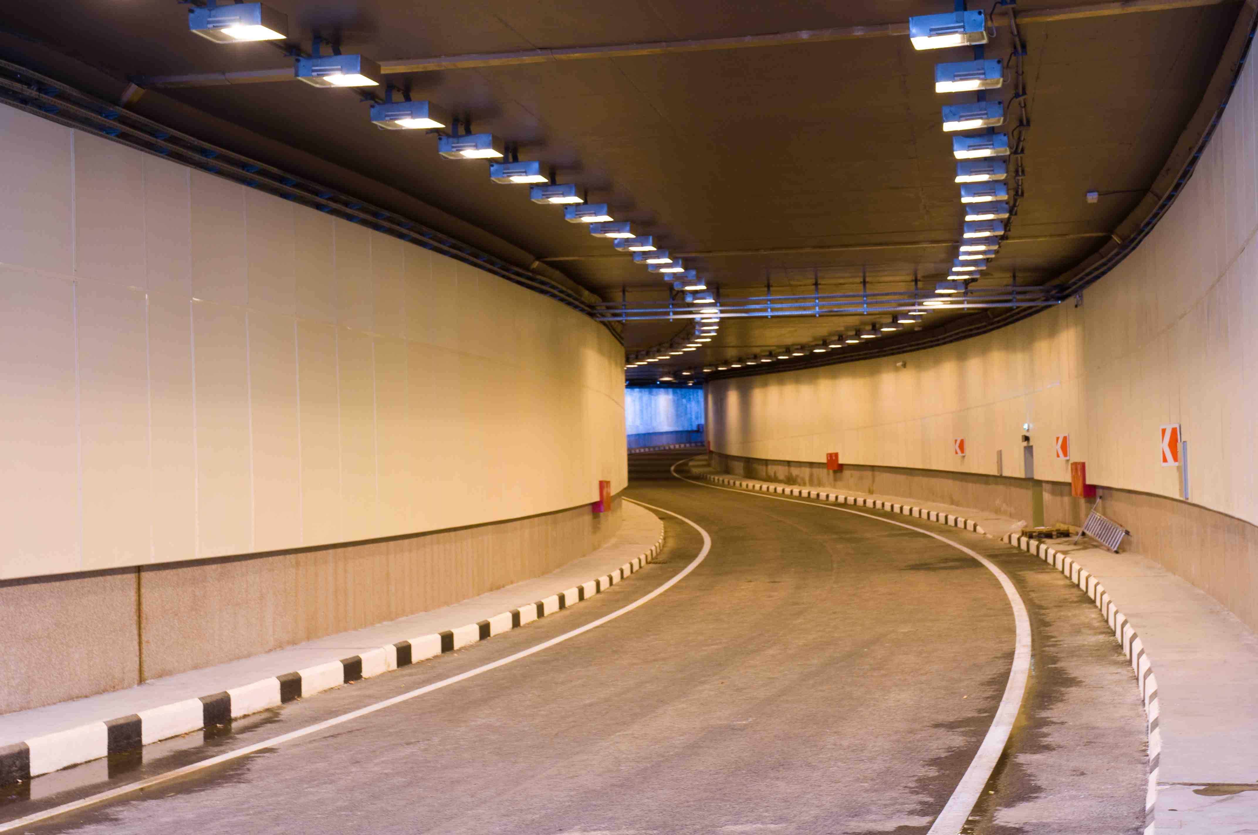 автодорожный тоннель Сколково 4