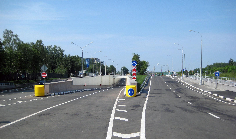 Skolkovo avtodorozny tonnel
